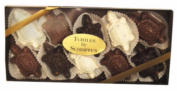 ... Turtle-Shaped Confections, and 2 Chocolate-Covered Caramels